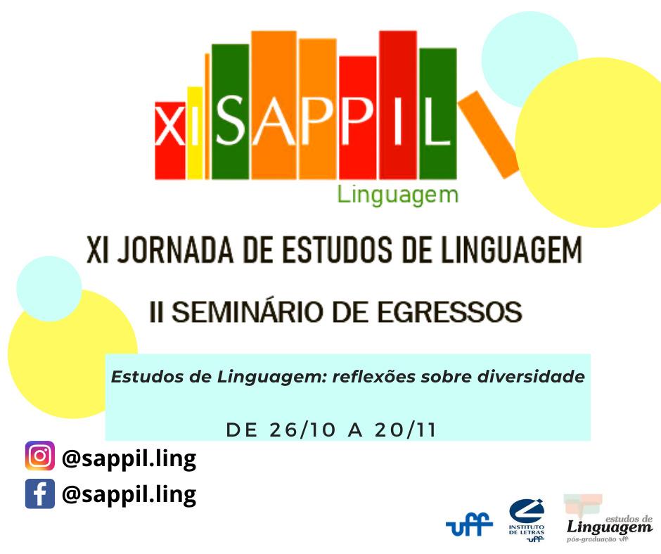 XI SAPPIL – Linguagem